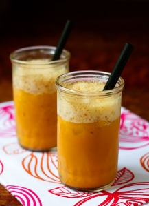 soymilk carrot cake smoothie