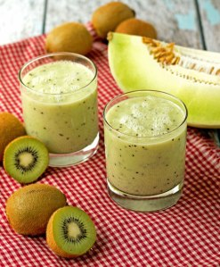 Honeydew Kiwi Lime Smoothie