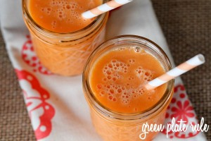 Orange Pineapple Carrot Smoothie